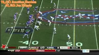 Jonotthan Harrison vs Florida State (2013)