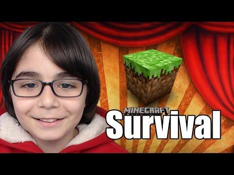 CHEST ODASI YAPIMI - Minecraft Survival Serisi #S1 #12