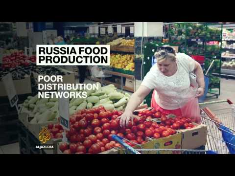 Russian farmers seek profit from food ban