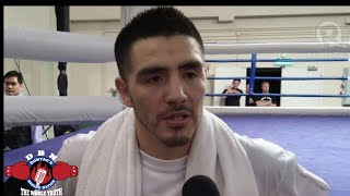 Brandon Rios reacts  to talks of him knocking out Conor McGregor in sparring