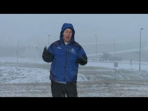 Snow and Wind in Kansas City