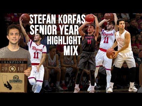 Stefan Korfas Senior Year Highlight Mix (2017-2018)