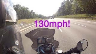 8. R1200GS Adventure top speed over 130MPH!