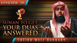 Sunan To Get Your Duas Answered ᴴᴰ ┇ #SunnahRevival ┇ by Sheikh Muiz Bukhary ┇ TDR Production ┇