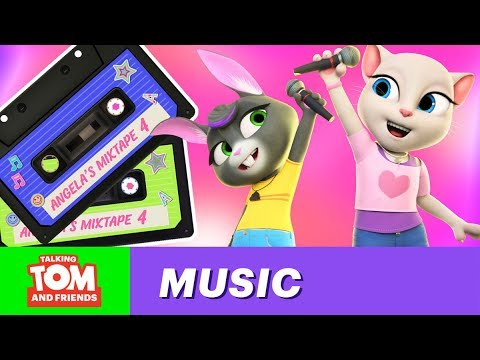 👩🎤🎤🎵 Sing With Talking Angela (Official Music Mixtape Vol. 4)