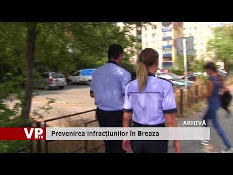 Prevenirea infracțiunilor în Breaza