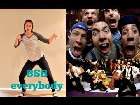 Современные танцы: хореография группы Backstreet Boys - Everybody. Урок онлайн.
