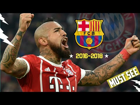 Arturo Vidal Welcome to Barcelona●2016-2019-Goodbye Must see Goals, Skills & Assists. Vidal 2019