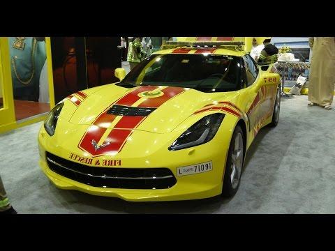 Dubai's Fire Truck is a Corvette