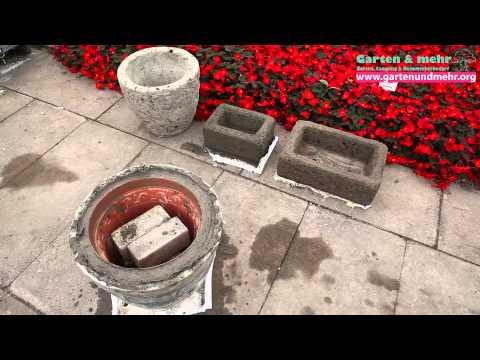 Blumenkästen aus Beton - selber bauen