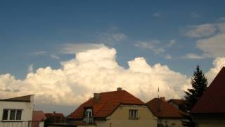 Kupovitá oblačnost / Cumulus Clouds Timelapse