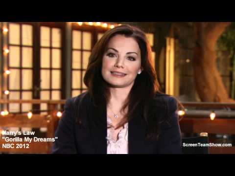 Erica Durance Talks About Filming Harry's Law Episode