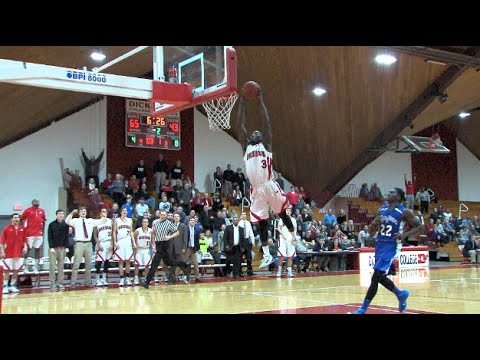 Chris Cox's Dunking Display vs. F&M
