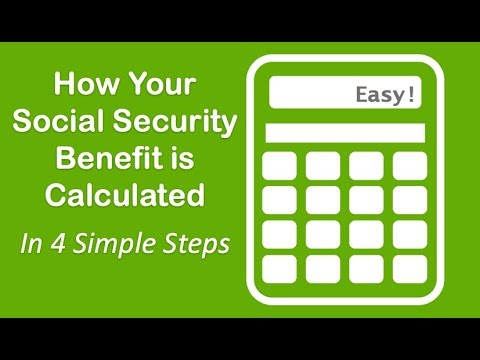 Video: How To Calculate Social Security Benefits