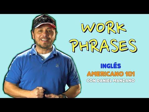 18 FRASES en inglés para USAR en tu TRABAJO!!!