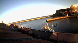 Whitby Thu 8th Jan 2015 24-Hour Time-lapse (Downriver)