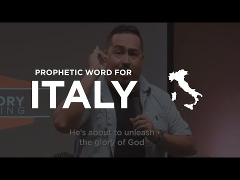 PROPHETIC WORD for Italy 1.5 Hours Before Earthquake