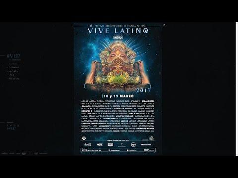 Cartel del vive latino 2017 y precios por fase