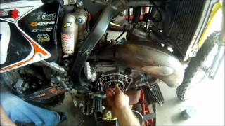 9. Suzuki rm125 Clutch Assembly