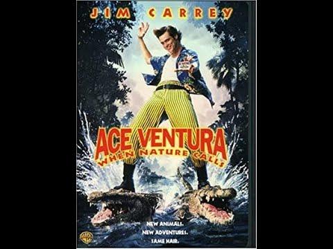 Ace Ventura When Nature Calls 1997 DVD menu walkthrough
