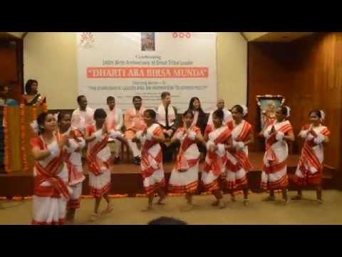 Jhumur Dance By ADAA (Assam Delhi Adivasi Association)