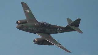"Video Messerschmitt Me 262 ""Schwalbe"" - First Flight Over Berlin after 61 Years, Historical Footage! MP3, 3GP, MP4, WEBM, AVI, FLV Januari 2019"