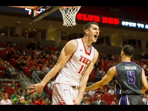 Dejan Kravic Texas Tech 2012-13 Highlights