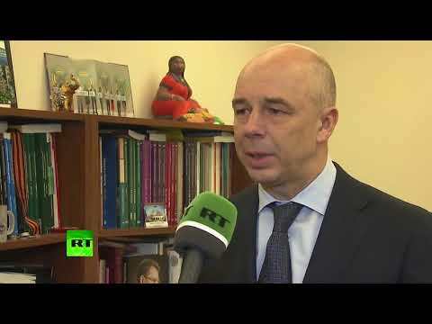 Интервью Министра финансов Антона Силуанова телеканалу Russia Today