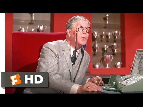 How to Succeed in Business Without Really Trying (1967) - The Boss's Wife Scene (4/10) | Movieclips