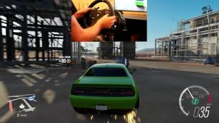 Forza Horizon 3 Chill Drift Session Wheelcam Widebody Hellcat Liberty Walk