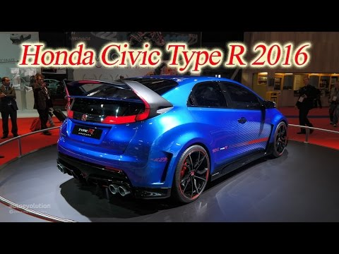 Honda civic type r технические характеристики фотография