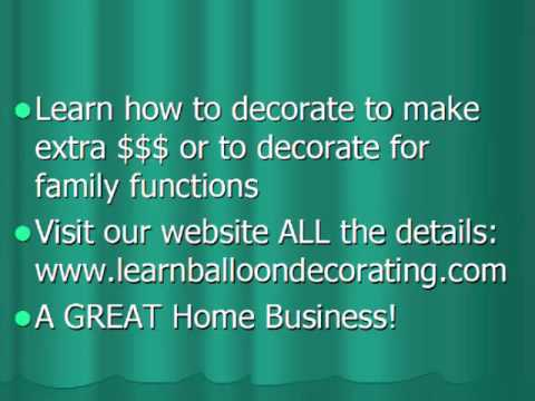 O Guia da Cidade - Videos - balloon decorating course videos