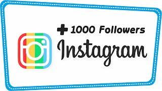 Trik Menambah 1000 Followers Instagram Per Hari Tanpa Harus Following