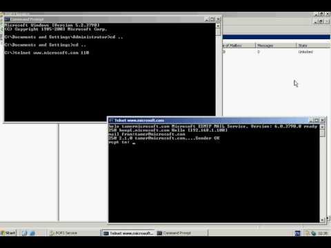 Windows Server 2003   Mail Server Test