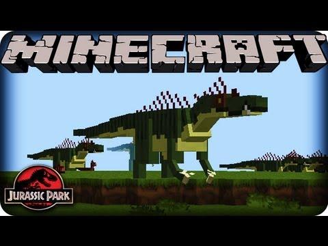 Minecraft Dinosaurs - JURASSIC PARK - SEASON 2!  Ep # 1 DANGEROUS DINOSAURS!
