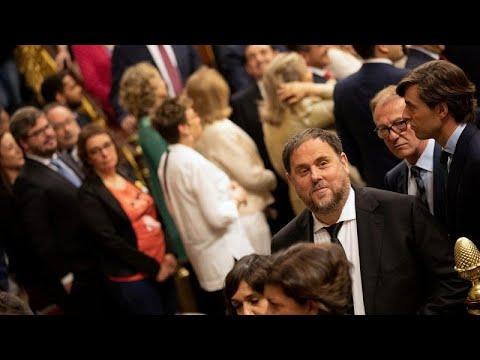 Spanien: Inhaftierte Separatisten nach Katalonien tran ...