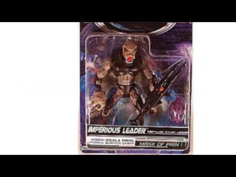 Video Check out the latest tube of Imperious Leader Action Figure