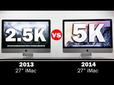 Imac - Here is our comparison of the 27