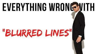 """Video Everything Wrong With Robin Thicke """"Blurred Lines"""" MP3, 3GP, MP4, WEBM, AVI, FLV Agustus 2018"""