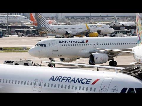 Γαλλία: Αρχίζουν τις απεργίες σε τρένα και αερομεταφορές!