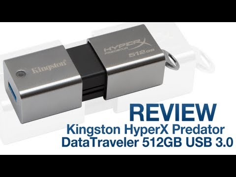Video giới thiệu USB 3.0 Kingston HyperX Predator 512GB