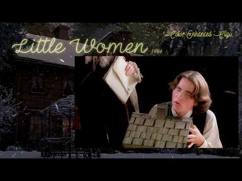 "Little Women 1994 Film - ""Sir Rodrigo"" (Color Enhanced Clips) HD"