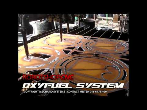 CNC Flame/Oxyfuel Cutting Machine Gallery