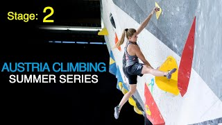 Austria Climbing Summer Series 2020 - Stage 2 by Bouldering TV