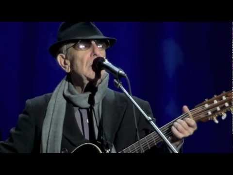 Leonard Cohen,  Night Comes On, Dublin, 12-09-2012
