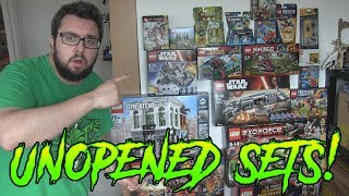 MJ shows an updated look at his unopened LEGO sets. There's a lot to get through, so strap in!►My Food Reviews! http:www.youtube.com/user/foodreviewuk►Daily VLOG: https://www.youtube.com/user/MichaelJamiesonsLife►Instagram - www.instagram.com/rezourceman►Flick - www.flickr.com/rezourcemanBusiness Enquiries - michaeljamiesoncomedy@gmail.com