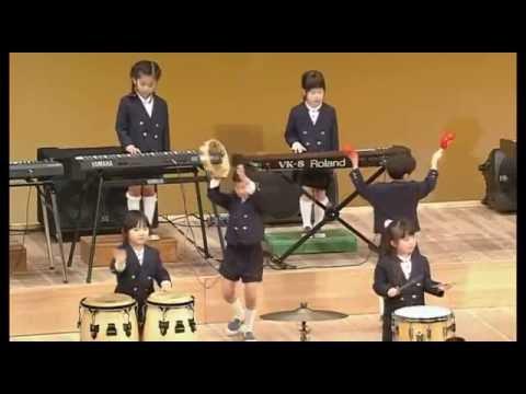 【りゅうせん幼稚園】第39回 おわかれ演奏会 アンコール/器楽合奏 「エル・クンバンチェロ」