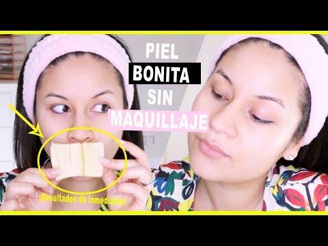 Videos caseros - PIEL BONITA SIN MAQUILLAJE I MASCARILLA 100% NATURAL PIEL SECA