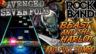 Video Avenged Sevenfold - Beast and the Harlot 100% FC (Rock Band 4, Expert) MP3, 3GP, MP4, WEBM, AVI, FLV Juli 2018