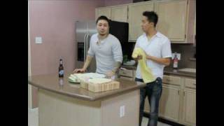 TRAN CAN COOK!: How to make Vietnamese Egg Rolls 2 of 2
